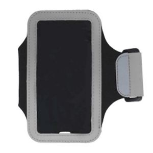 Carrying case for Samsung G930/iPhone 7 iSelf Armband Silver