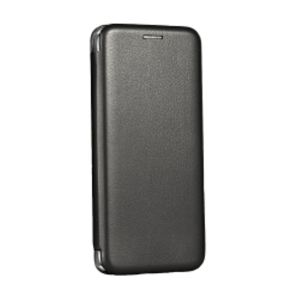 Carrying case for Huawei P20 Lite Senso Oval Leather Stand Book Magnetic Case Black
