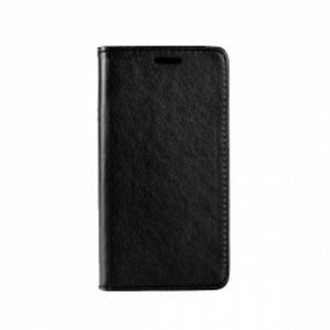 Carrying case for Huawei P20 Senso Leather Stand Book Magnet Case Black