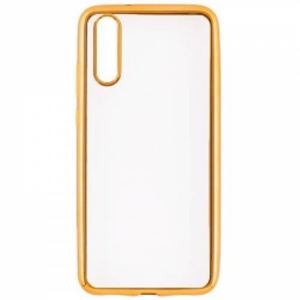 Carrying case for Huawei P20 Senso TPU Clear Side Color Gold