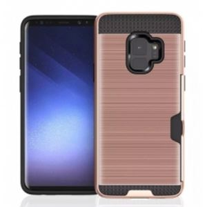 Carrying case for Samsung A530 Senso TPU Defender Card Slot Gold