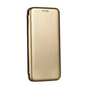 Carrying case for Samsung A605 Senso Oval Book Magnetic Case Gold