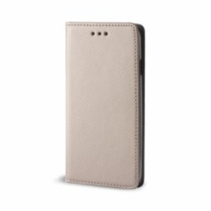 Carrying case for Xiaomi Redmi 6 Senso Leather Stand Book Magnetic Case Gold