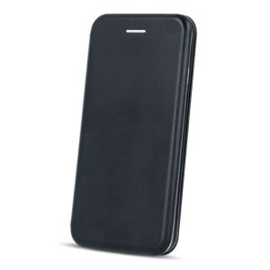 Carrying case for iPhone XR Senso Oval Book Magnetic Case Black