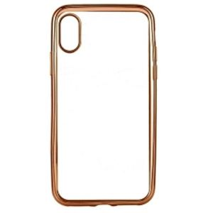 Carrying case for iPhone 10 Senso TPU Clear Side Color Rose Gold