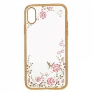 Carrying case for iPhone 10 Senso TPU Diamond Gold