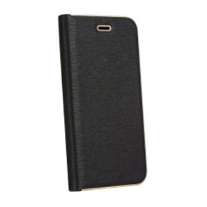 Carrying case for iPhone 10 Senso Feel Stand Book Magnetic Case Black