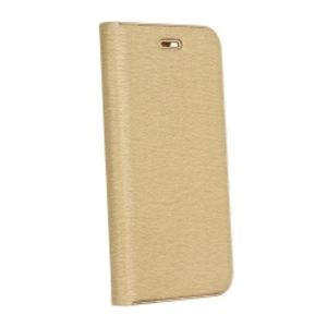 Carrying case for iPhone 10 Senso Feel Stand Book Magnetic Case Gold