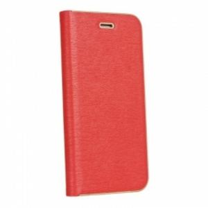 Carrying case for iPhone 10 Senso Feel Stand Book Magnetic Case Red