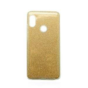 Carrying case for Samsung A920 (2018) Senso TPU Sunshine Gold