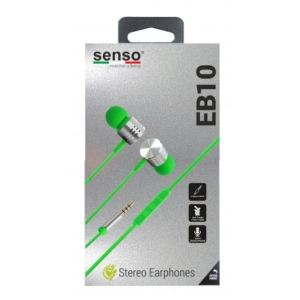 HandsFree for Senso EB10 3.5mm jack Stereo Green