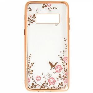 Carrying case for Samsung G970 Galaxy S10e Senso TPU Diamond Gold