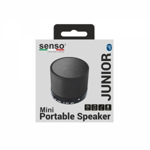 Portable Bluetooth Speakers Senso SBPSJB Junior Black