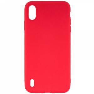 Carrying case for Samsung A105 Galaxy A10 Senso TPU Red