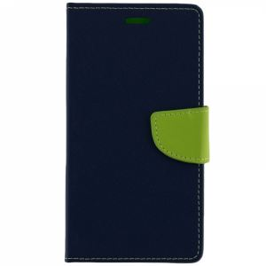 Carrying case for Samsung A105 Galaxy A10 iSelf Book Fancy Case Blue Lime