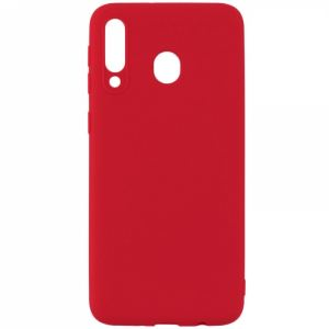 Carrying case for Samsung A202 A20e Senso TPU Red
