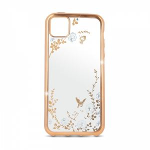 Carrying case for iPhone 11 Senso TPU Diamond Gold