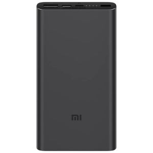 Power Bank Universal Charger Xiaomi Mi 10000mAh Fast Charge Black