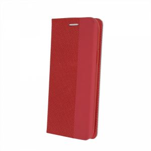 Carrying case for Samsung A715 Galaxy A71 Senso PRIMO Book Magnetic Case Red