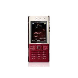 Sony Ericsson T700 Gold on Red