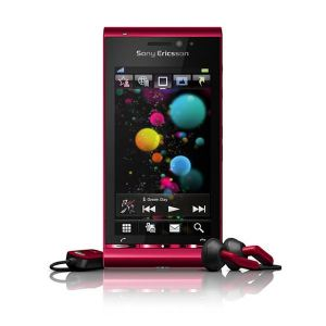 Sony Ericsson U1 Satio (Idou) Bordeaux Red